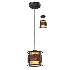 Milan 1 Light Mini Pendant