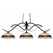 Phoenix 3 Light Kitchen Island Pendant