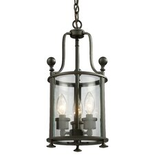 Wyndham 3 Light Foyer Pendant