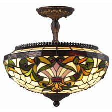 Templeton 3 Light Semi Flush Mount