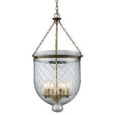Tudor 6 Light Foyer Pendant