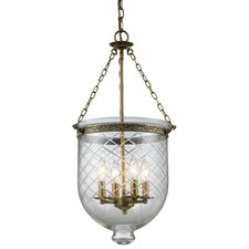 Tudor 4 Light Foyer Pendant