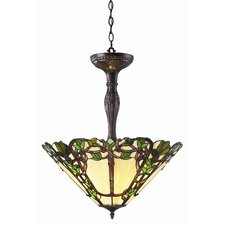 Vidonia 3 Light Inverted Pendant