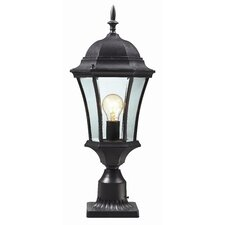 "<strong>Z-Lite</strong> Wakefield 1 Light 22"" Outdoor Post Lantern"