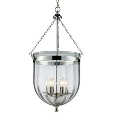 <strong>Z-Lite</strong> Warwick 6 Light Foyer Pendant