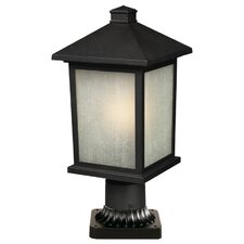 "<strong>Z-Lite</strong> Holbrook 1 Light 14"" Outdoor Post Lantern"