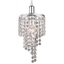 <strong>Z-Lite</strong> Petite Mini Chandelier in Chrome