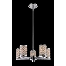 <strong>Z-Lite</strong> Synergy 5 Light Chandelier