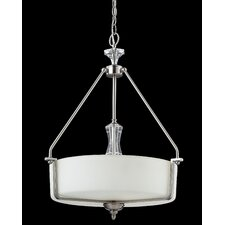 Avignon 3 Light Drum Foyer Pendant