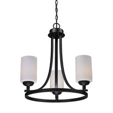 <strong>Z-Lite</strong> Chambley 3 Light Chandelier