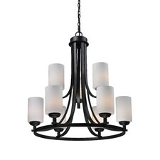 <strong>Z-Lite</strong> Chambley 9 Light Chandelier