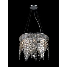 <strong>Z-Lite</strong> Nyssa 8 Light Crystal Chandelier