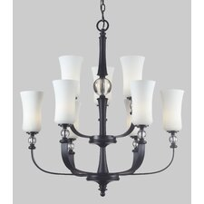 <strong>Z-Lite</strong> Harmony 9 Light Chandelier