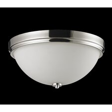 <strong>Z-Lite</strong> Ellipse 3 Light Flush Mount
