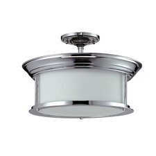 Sonna 3 Light Semi-Flush Mount