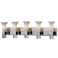 Lotus 5 Light Vanity Light