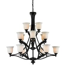 <strong>Z-Lite</strong> Lagoon 15 Light Chandelier