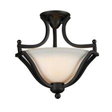 Lagoon 2 Light Semi-Flush Mount