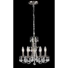 Pearl 5 Light Mini Chandelier