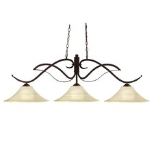 <strong>Z-Lite</strong> Phoenix 3 Light Billiard Pendant