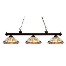 Riviera 3 Light Billiard Light