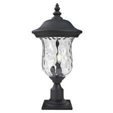 "Armstrong 2 Light 15.79"" Outdoor Post Lantern"