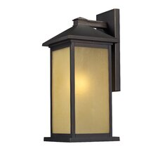 <strong>Z-Lite</strong> Vienna 1 Light Outdoor Wall Lantern