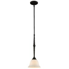 <strong>Z-Lite</strong> Clayton 1 Light Mini Pendant