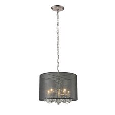 Mystique 5 Light Drum Pendant