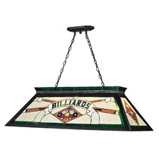 <strong>Z-Lite</strong> Tiffany 4 Light Billiard Light