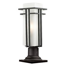 Abbey 1 Light Outdoor Pier Mount
