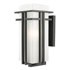 <strong>Z-Lite</strong> Abbey 1 Light Outdoor Wall Light