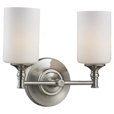 <strong>Z-Lite</strong> Cannondale 2 Light Bathroom Vanity Light