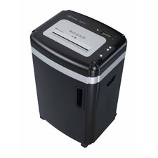 Paper Shredder 15 Sheet Micro-cut in Black
