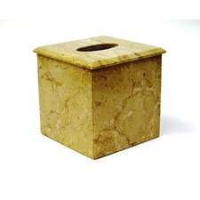 <strong>Nature Home Decor</strong> Sahara Beige Marble Tissue Holder