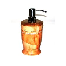 Series 300 in Teakwood Marble Liquid Soap Dispenser