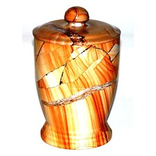 Series 300 in Teakwood Marble Canister