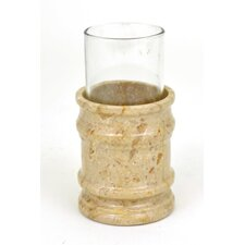 <strong>Nature Home Decor</strong> Sahara Beige Marble Tumbler