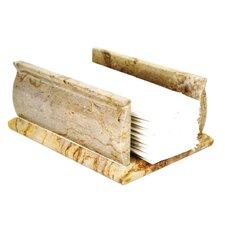 <strong>Nature Home Decor</strong> Sahara Beige Marble Towel Holder