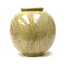 <strong>Nature Home Decor</strong> Sahara Beige Marble Vase
