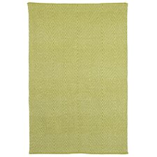 Zen Dark Citron/Bright White Rug