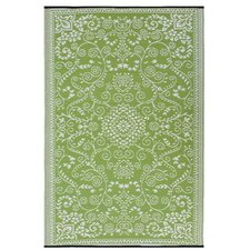 World Murano Lime Green/Cream Indoor/Outdoor Rug