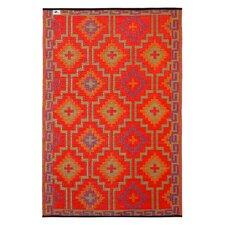 World Lhasa Orange Indoor/Outdoor Area Rug