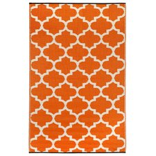 Tangier Carrot World Indoor/Outdoor Rug