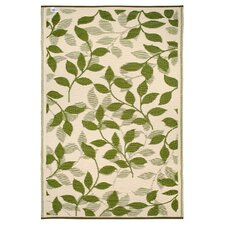 <strong>Fab Rugs</strong> World Bali Forest Green/Cream Rug