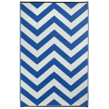 Laguna Regatta Blue World Indoor/Outdoor Rug