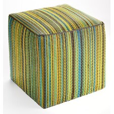 World Cancun Polypropylene Cube Ottoman