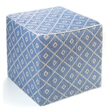World Veria Polypropylene Cube Ottoman