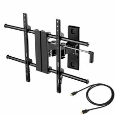 "Articulating LCD Wall Mount for 26"" to 52"" Screens in Hi-Gloss Black"