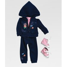 "<strong>Adora Dolls</strong> 18"" Doll Clothes - Girl Scout Daisy Hooded Jacket / Pant Set"